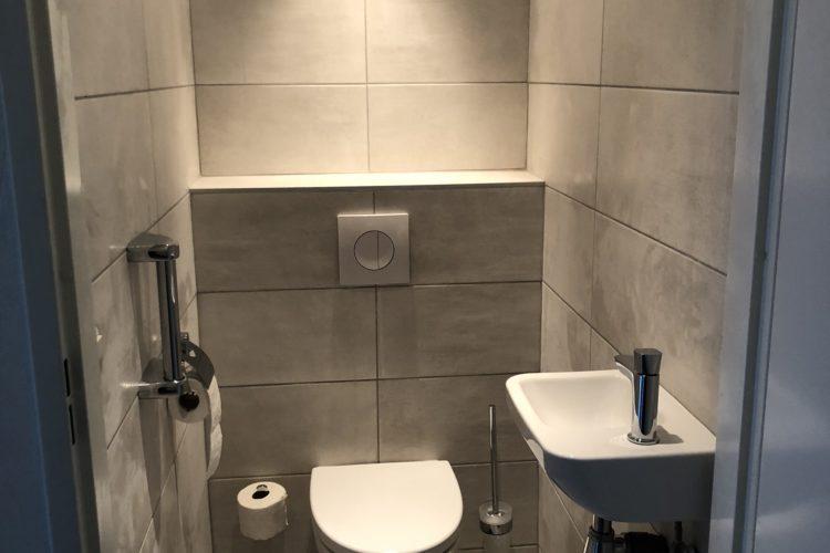 Renovatie badkamer en toilet
